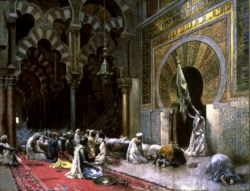 WALTERS: Edwin Lord Weeks (American, 1849-1903): Interior of a Mosque at Cordova 1855