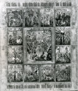 WALTERS: Russian: The Resurrection of Christ and Twelve Church Feasts 1800