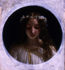 WALTERS: Henry Lejeune (English, 1820-1904): Ophelia None