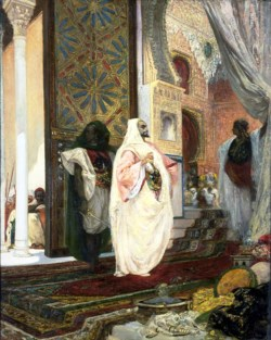 WALTERS: Georges Jules Victor Clairin (French, 1843-1919): Entering the Harem 1858