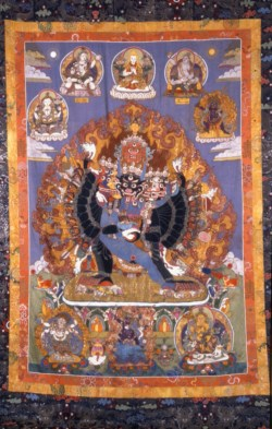 WALTERS: Tibetan: Vajrabhairava with Retinue 1788