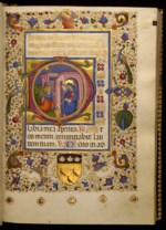 WALTERS: Master of Isabella di Chiaromonte (1455-1469): Leaf from Book of Hours 1448