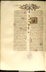 WALTERS: Benedetto Bordon (Italian, 1450-1530): Leaf from Breviary 1468