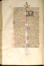 WALTERS: Francesco di Antonio del Chierico (Italian, 1433-1484): Leaf from Breviary 1450