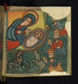 WALTERS: Ethiopian: Adoration of the Magi 1675