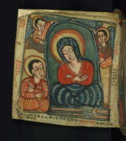 WALTERS: Ethiopian: The Dormition and Assumption of Mary 1675