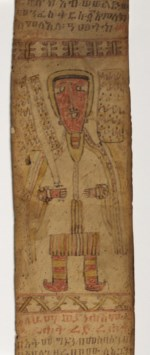 WALTERS: Ethiopian: Scroll with Angels and Talismans 1700