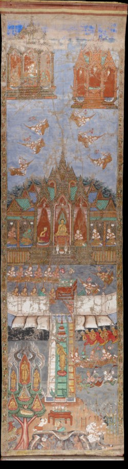 WALTERS: Thai: The Buddha's Descent from Heaven 1885