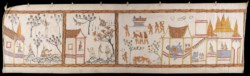 WALTERS: Thai: Narrative Scroll: Vessantara Jataka 1901