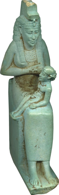 WALTERS: Egyptian: Isis Nursing Horus -663