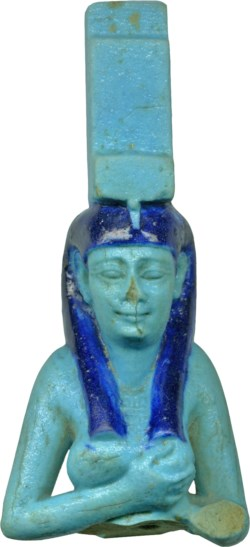 WALTERS: Egyptian: Isis Nursing the Child Horus -330