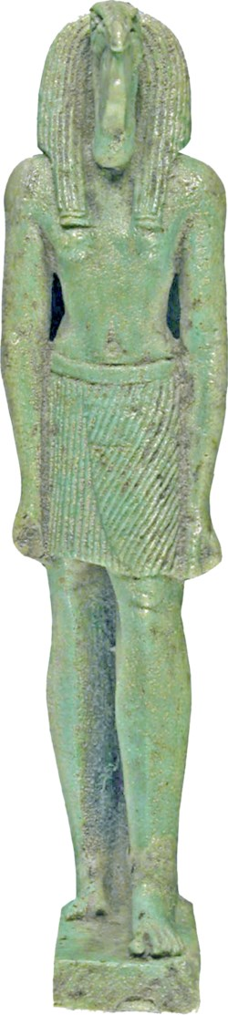 WALTERS: Egyptian: Standing Thoth with Ibis Head -664