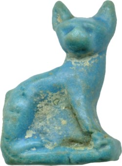 WALTERS: Egyptian: Seated Cat -400
