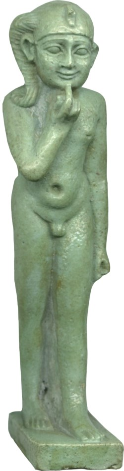 WALTERS: Egyptian: Horus the Child-Harpocrates -400