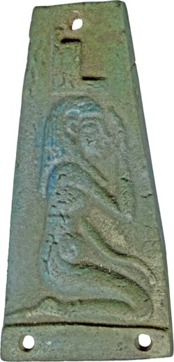 WALTERS: Egyptian: Amuletic Plaque with Isis -412