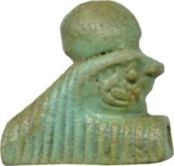 WALTERS: Egyptian: Falcon Head of Re-Harakte -1070