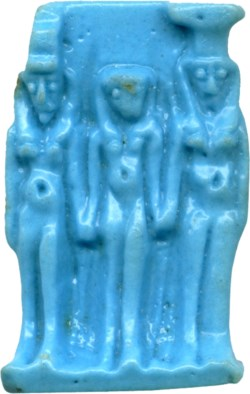 WALTERS: Egyptian: Triad of Isis, Horus and Nephthys -400