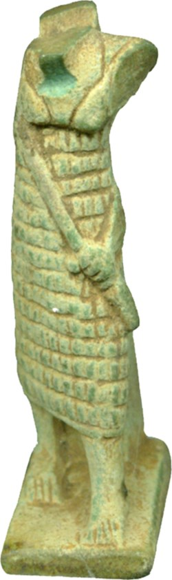 WALTERS: Egyptian: Onuris Standing with Spear in Left Hand -1070