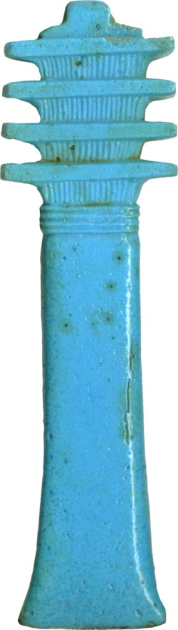WALTERS: Egyptian: Djed Pillar -660