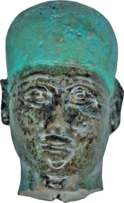 WALTERS: Egyptian: Head of Ptah -664