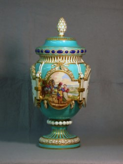 WALTERS: Sèvres Porcelain Manufactory (French, active 1756-present): Vase with Cover 1763