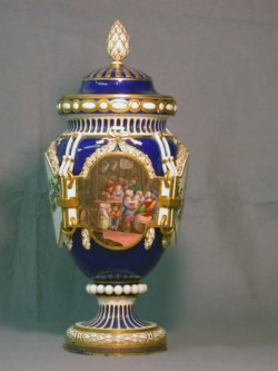WALTERS: Sèvres Porcelain Manufactory (French, active 1756-present): Vase with Cover 1700