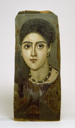 WALTERS: Egyptian: Female Portrait Mask 100
