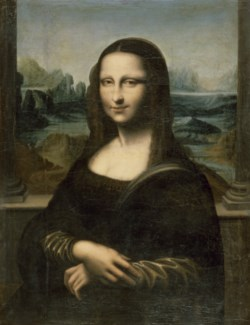 "WALTERS: Copy after Leonardo da Vinci (Italian, 1452-1519): Copy of the ""Mona Lisa"" 1623"