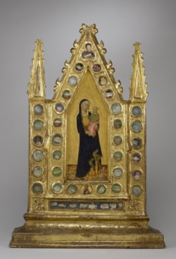 WALTERS: Naddo Ceccarelli (Italian, active ca. 1330-1360): Reliquary Tabernacle with the Virgin and Child 1338