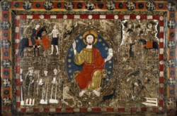 WALTERS: Spanish: Altar Frontal with Christ in Majesty and the Life of Saint Martin 1250