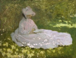 WALTERS: Claude Monet (French, 1840-1926): Springtime 1872