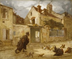 WALTERS: Thomas Couture (French, 1815-1879): Lawyer Going to Court 1848