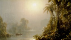 WALTERS: Frederick Edwin Church (American, 1826-1900): Morning in the Tropics 1833