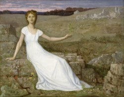 WALTERS: Pierre Puvis de Chavannes (French, 1824-1898): Hope 1872