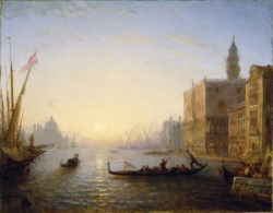WALTERS: Félix François Georges Philibert Ziem (French, 1821-1911): Venice, Evening 1853