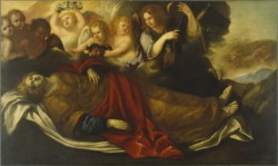 WALTERS: Venetian: The Martyred St. Catherine of Alexandria with Angels 1625