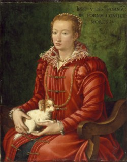 WALTERS: Venetian: Woman with a Lap Dog 1563