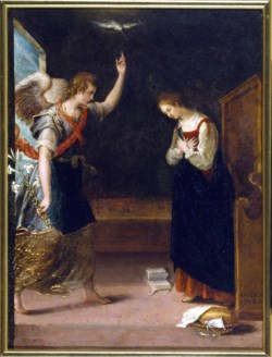 WALTERS: Lavinia Fontana (Italian, 1552-1614): The Annunciation 1575