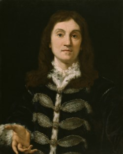 WALTERS: Giovanni Battista Gaulli (Italian, 1639-1709): Portrait of a Man 1688