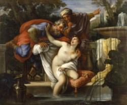 WALTERS: Giuseppe Bartolomeo Chiari (Italian, 1654-1727): Susannah and the Elders 1688
