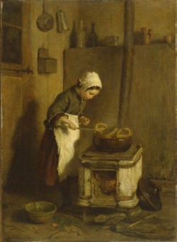 WALTERS: Pierre-Édouard Frère (French, 1819-1886): The Little Housekeeper 1857