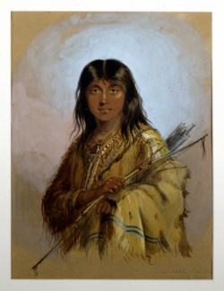 WALTERS: Alfred Jacob Miller (American, 1810-1874): Chinook Indian: Columbia River 1858