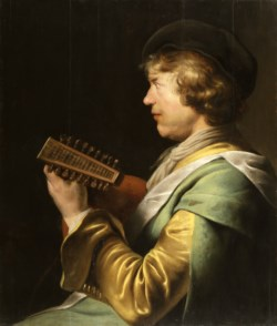 WALTERS: Jan Lievensz. (Dutch, 1607-1674): Lute Player 1617