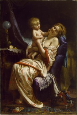 WALTERS: Leon Jean Basile Perrault (French, 1832-1908): Maternity 1873