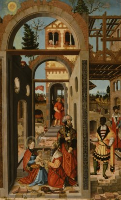 WALTERS: William Stetter (German, ca. 1490-1552): Adoration of the Three Kings 1526