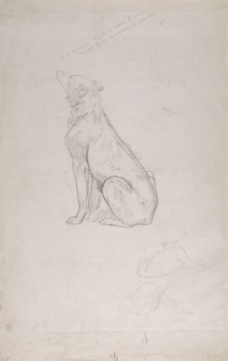 "WALTERS: Jean-Léon Gérôme (French, 1824-1904): Study for ""Diogenes"" None"