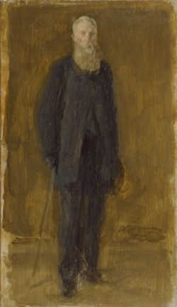 WALTERS: James McNeill Whistler (American, 1834-1903): Portrait of George A. Lucas 1886