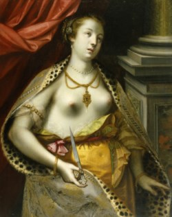 WALTERS: German Master (with the initials C.S.B.?): The Suicide of Lucretia 1600