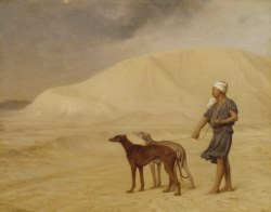 WALTERS: Jean-Léon Gérôme (French, 1824-1904): On the Desert 1842