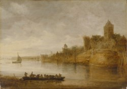 WALTERS: Jan van Goyen (Dutch, 1596-1656): The Medieval Fortress at Nijmegen 1643